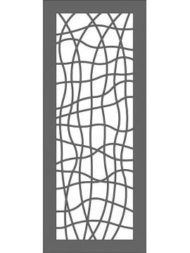 pannello in lamiera per cancelletto-porta