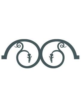 curve decorative per cancelli