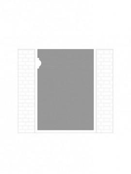cancello pedonale autoportante composto da nr. 1 pannello. tipologia come art. 231