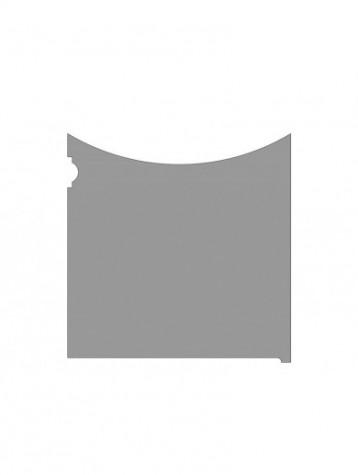 pannello in lamiera autoportante. tipologia come art. am1060